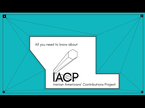 Iranian Americans' Contributions Project - Presentation - 1/29/17