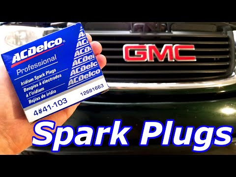 How To Replace 2004 GMC ENVOY SPARK PLUGS