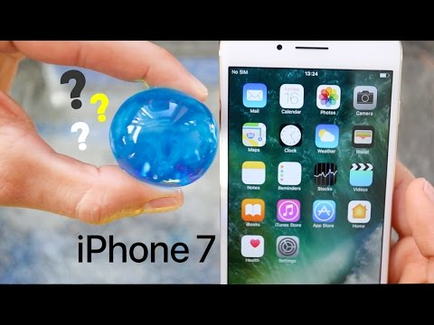 Can ORBEEZ Protect an iPhone 7 PLUS from 100FT Drop Test? Did it survive?