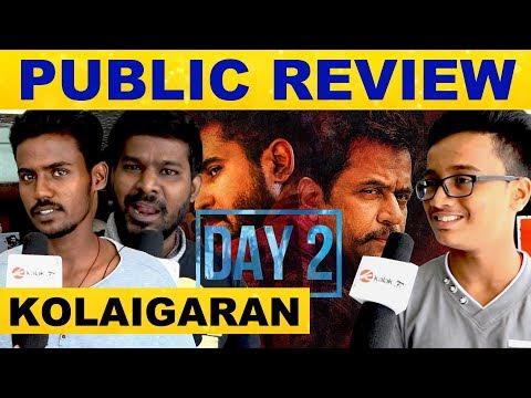 Kolaigaran Movie Public Review Day 2 | Vijay Antony | Arjun | Ashima Narwal | Simon K.King | Review