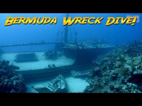 Diving the Hermes Wreck Bermuda | JONATHAN BIRD'S BLUE WORLD