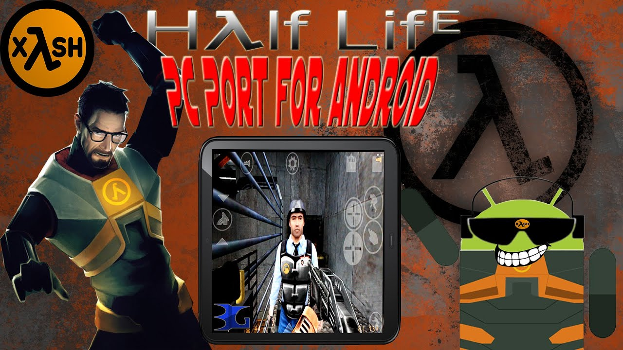 How to Play Half Life on Android with Xash3D (PC Port)