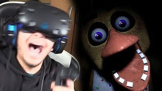 ANIMATRÓNICOS EN REALIDAD VIRTUAL !! - Five Nights At Freddy's: Help Wanted
