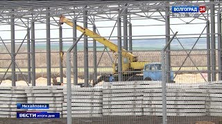 В Михайловке строят мусороперерабатывающий комплекс