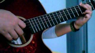 Beautiful in white ( guitar cover-intro tự mò :D )