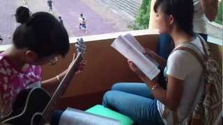 Với Anh Em Vẫn Là Cô Bé - cover guitar - Tạ Bích Ngọc ft Hằng Hóm Hỉnh