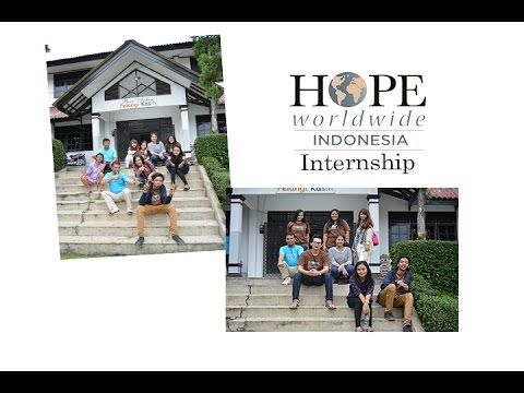 All About Internship at Hope Worldwide Indonesia - YouTube