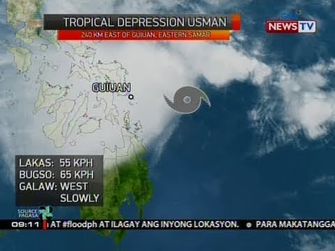 SONA: Bagyong Usman, inaasahang magla-landfall ng Biyernes ng gabi o Sabado ng madaling araw