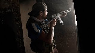 FSA Clashes With The Syrian Army In Aleppo Castle and the Palace of Justice