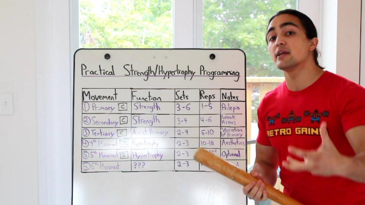 Practical Strength/Hypertrophy Programming