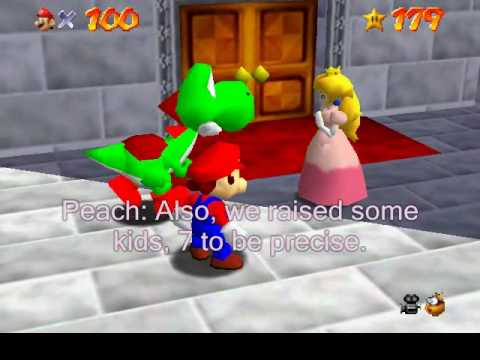 The Really real ending to SM64