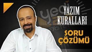 """Yazım Kuralları - SORU ÇÖZÜMÜ / """"YKS-KPSS"""", Önder Hoca"""