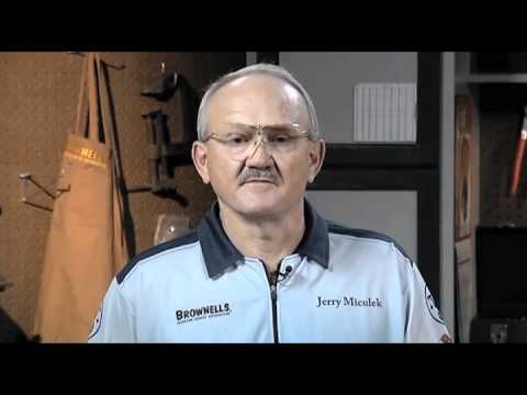 Jerry Miculek Practical Rifle, Sighting In Metallic Sights