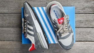 ADIDAS ZX500 RM (B42204) | unboxing - overview & on-feet!!