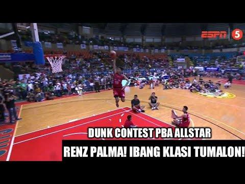 SURPRISES EVERYONE WITH HIS HOPS! RENZ PALMA DUNK CONTEST PBA ALLSTAR