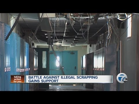 Battle against illegal scrapping gains support