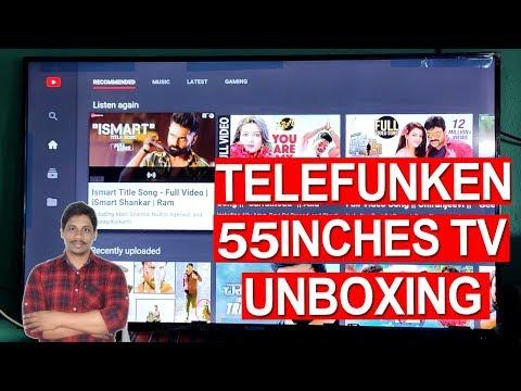 telefunken-140-cm-55-inches-4k-ultra-hd-smart-led-tv-unboxing-under-30k-telugu