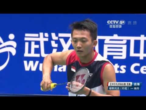 Badminton Asia Championships 2016 Lin Dan vs Ihsan Maulana Mustofa