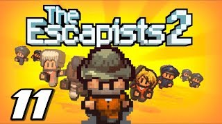 The Escapists 2 - DEADLY SPEAR - Episode 11 (Escapists 2 Gameplay Playthrough)