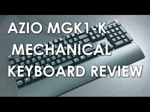 Azio Backlit Mechanical Gaming Keyboard (MGK1-K)