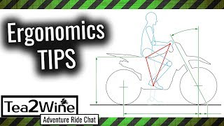 New motorcycle helpful TIPS - Basic Ergonomics