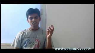 GATE 2014(Agri. Engg.) | AIR 58 | Sunny Jaiswal