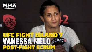UFC Fight Island 7: Vanessa Melo Used Time Off To 'Reinvent Herself' After Three Straight Of Losses