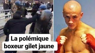 Peut-on utiliser la boxe pour se défendre ? GILET JAUNE vs CRS / Christophe Dettinger