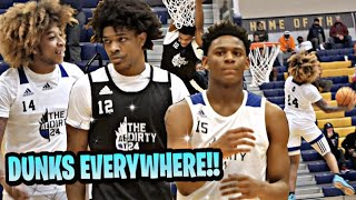 JD Davison, Scoot Henderson, Elijah Fisher & More! Puts On A DUNK SHOW! Dirty24 Full Game Highlights