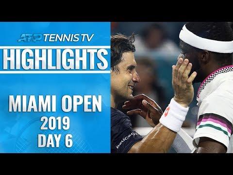 Federer Shows His Class; Ferrer Bids Farewell | Miami Open 2019 Day 6 Highlights