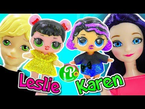 Marinette y Adrien convierten a las bebés LOL en los Polinesios y abren sorpresas de juguetes LOL