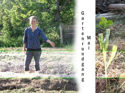 Garten im Mai | Gartenrundgang | Indianerbeet bepflanzen