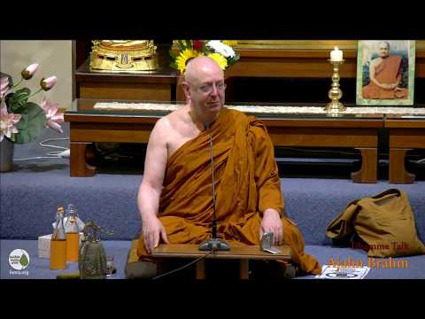 Stress - Overreaction to Life | Ajahn Brahm | 9 March 2018