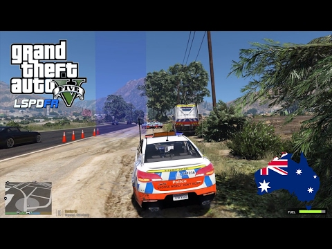 GTA 5 NSW Police Mod - Afternoon RBT In Grapeseed (Play GTA 5 as a cop mod for PC)