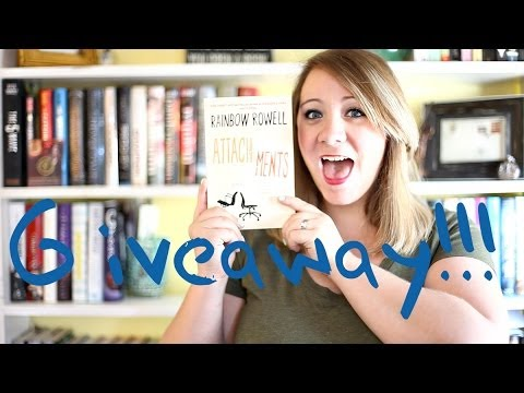 Attachments by Rainbow Rowell Giveaway! from YouTube · Duration:  3 minutes 18 seconds