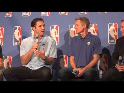 Steve Kerr wins NBA Coach of the Year [Full Video]