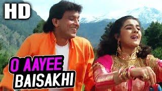 O Aayee Baisakhi | Mohammed Aziz, Alka Yagnik, Suresh Wadkar, Uttara Kelkar | Agnee 1988 Songs