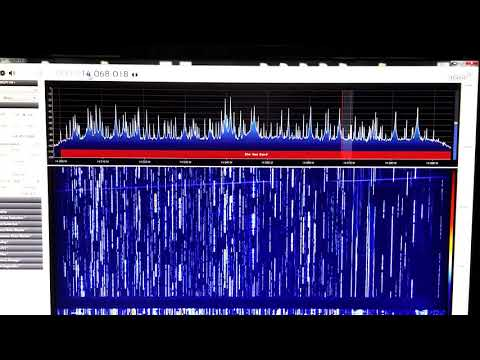 CQWW-2017 using AirSPY HF+ and 250 feet long skyloop antenna