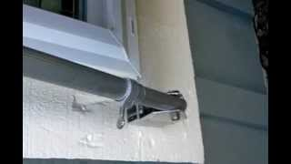 Folkers Bahama Shutter Locking System