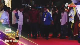 Thalapathy Vijay Entry In Vikatan Awards 2018