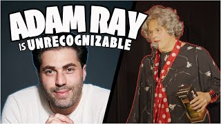 """Comedian Adam Ray unrecognized as 75 year old lounge singer at Comedy Store!"""""""