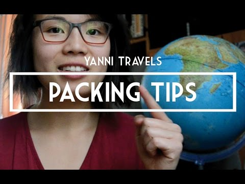 7 Packing Tips for Long and Short Travels - Yanni Travel #10
