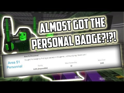 Almost Got The Personal Badge Survive And Kill The Killer In