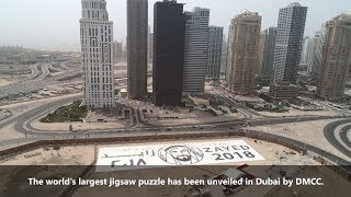 DMCC Breaks Guinness World Record for Largest Jigsaw Puzzle - YEAR OF ZAYED thumbnail
