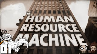 """CLIMB THE CORPORATE LADDER!!!"" - Human Resource Machine Part 01 - 1080p HD PC Gameplay Walkthrough"