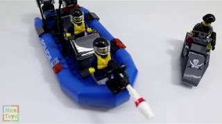 Lego Police - Coast Guard | Build and Play with Lego