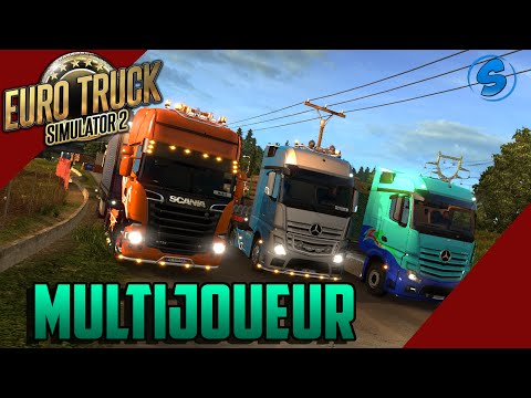 Euro Truck Simulator 2 MP - Geneve - Zurich   HD