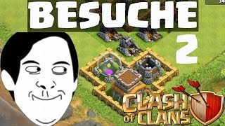 Clash of Clans || BESUCHE UND REVIEWS #2 || Let's Play Clash of Clans [Deutsch/German HD]
