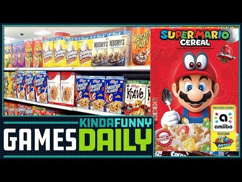 Super Mario Cereal to Nourish Gary Whitta - Kinda Funny Games Daily 11.29.17 - 동영상