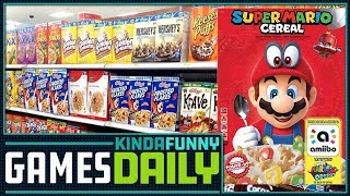 Super Mario Cereal to Nourish Gary Whitta - Kinda Funny Games Daily 11.29.17